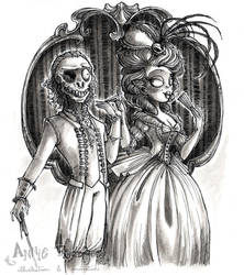 The Corpse and the Lady by maina