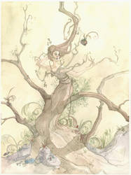 Faery Stories: The Fruit by maina