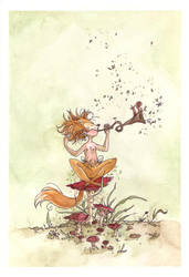The Fox Song by maina