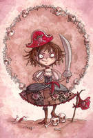 Strawberry Pirate Alicia by maina