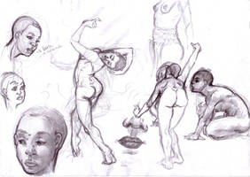 Khila Sketches by NixTiredBrain