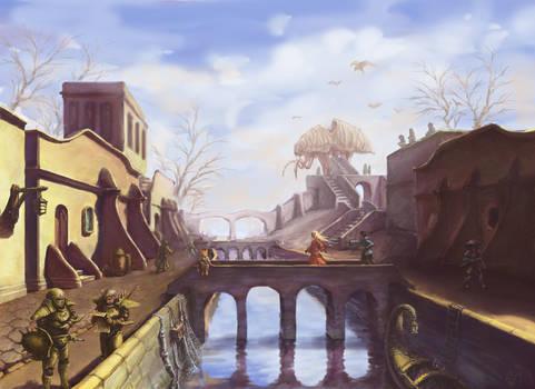 Morrowind Balmora v1_wip? by Saito00