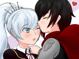Ruby Weiss Kiss Redone by brown-nii