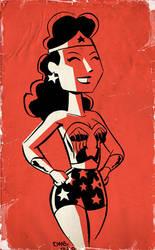 Wonder Woman by thecheckeredman