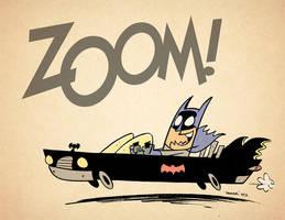Batman Joyride! by thecheckeredman
