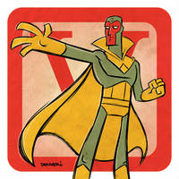 V is for Vision by thecheckeredman