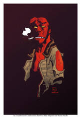 Hellboy by Pinello