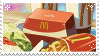 mcdonalds in anime - Stamp by TamaraC-Other