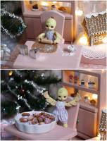 Christmas baking by sherimi