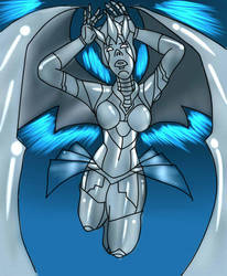 Cyber Angel Steel Angel colored by TreyMykel