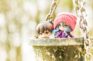 Kaga and Yoshino by Wasabi78