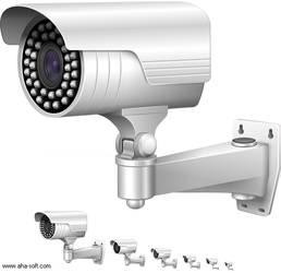 CCTV camera by aha-soft-icons