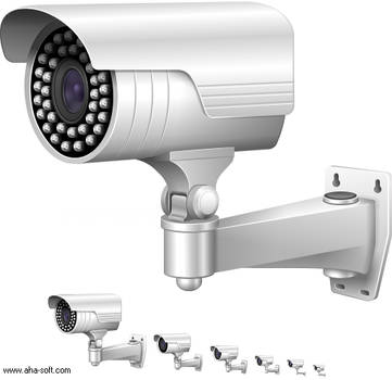 CCTV camera by aha-soft-icons