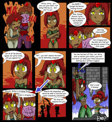 Amongst the Gerudo p6 by tran4of3