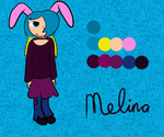 Melina reference sheet by AestheticToaster