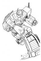 Optimus Prime Transformers by RobertAtkins