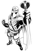 Hooded Cobra Commander by RobertAtkins