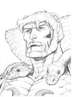 Serpentor sketch by RobertAtkins