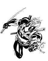 NYCC Deadpool sketch by RobertAtkins