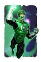 Green Lantern Colors by RobertAtkins