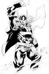 Thor Super Show sketch 2011 by RobertAtkins