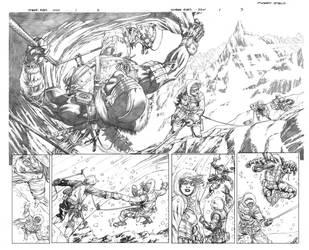 Snake Eyes 1 page 2-3 by RobertAtkins