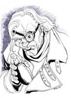 Harry Potter - MadEye Moody by RobertAtkins