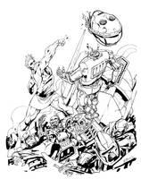 Magnus Robot Fighter by RobertAtkins