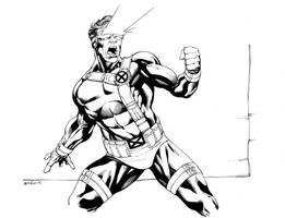 X-Men Month Cyclops SOTD by RobertAtkins