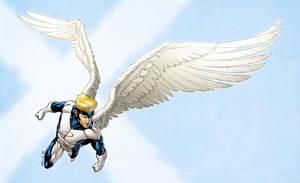 X-Men Month Angel Blue by RobertAtkins