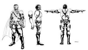 Cobra Commander IDW Redesign by RobertAtkins