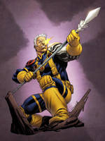 X-Men Month Cable Colors SOTD by RobertAtkins