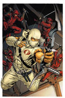 Snake Eyes 11 Cover Colors Storm Shadow by RobertAtkins