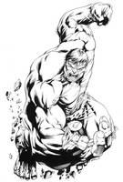 Incredible Hulk SOTD by RobertAtkins