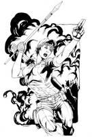 GI JOE Lady Jaye inks SOTD by RobertAtkins