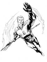 JLA January Aquaman SOTD by RobertAtkins