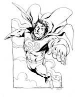JLA January Superman SOTD by RobertAtkins