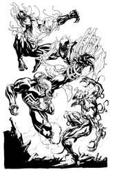 Venom Carnage AntiVenom and Toxin SOTD by RobertAtkins