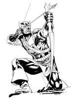 Avengers April Classic Hawkeye SOTD by RobertAtkins