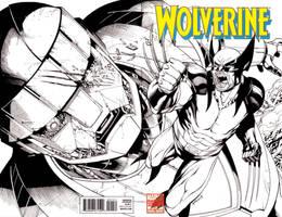 Woverine vs Sentinel SOTD by RobertAtkins