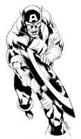 Captain America SOTD by RobertAtkins