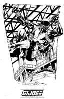 IDW limited Snake Eyes sketch by RobertAtkins
