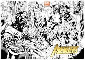 Avengers vs Kang Heroes Con by RobertAtkins