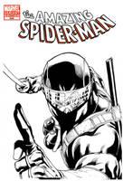 SnakeEyes vs Spider-Man by RobertAtkins