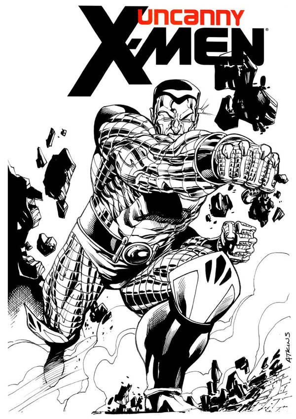 Heroes Con Colossus by RobertAtkins