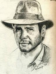 Indiana Jones by SvenjaLiv