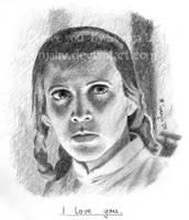 Leia Organa - 'I love you.' by SvenjaLiv
