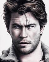 Chris Hemsworth by SvenjaLiv