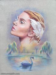 The Swan Princess by SvenjaLiv