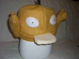 Psyduck hat by PokeMama